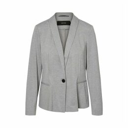 Straight Single-Breasted Blazer
