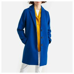 Lightweight Single-Breasted Tailored Boyfriend Coat