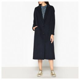 Samara Long Wool and Cashmere Coat