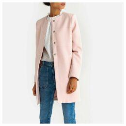 Lightweight Collarless Coat
