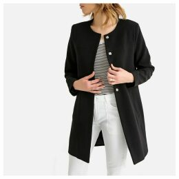 Lightweight Collarless Coat