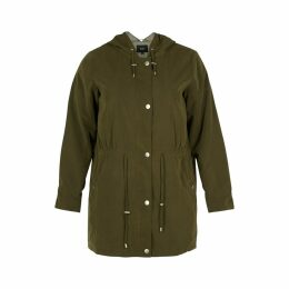 Mid-Season Mid-Length Zip-Up Parka