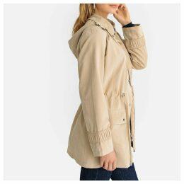 Removable Hood Raincoat