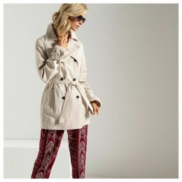 Water-Repellent Stain-Resistant Trench Coat