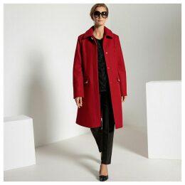 Embellished Buttoned Coat