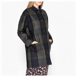 Eytan Checked Mid-Length Coat