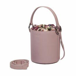 Meli Melo Santina Mini Bucket Bag Dusty Pink