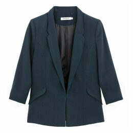 Long Straight Blazer