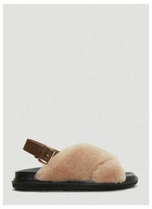 Marni Fussbett Sandals in Beige size EU - 40