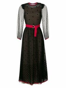 Nk silk midi dress - Black
