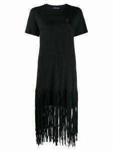 Polo Ralph Lauren shredded T-shirt dress - Black