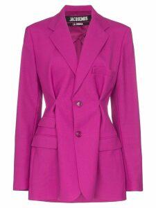 Jacquemus pinched detail blazer - Pink