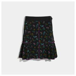Coach Printed Skirt