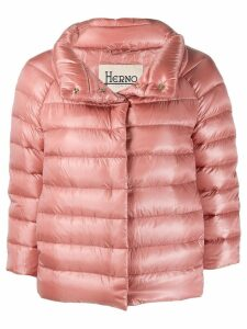 Herno high-neck down jacket - Pink