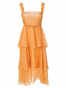 Clube Bossa Zelza midi dress - Yellow