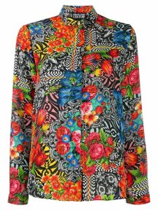 Versace Jeans Couture floral print shirt - Red