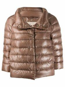 Herno high-neck down jacket - Neutrals