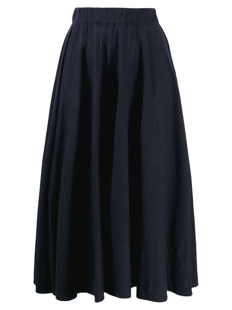 Jil Sander pleated skirt - Blue