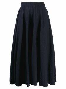 Jil Sander pleated skirt - Blue