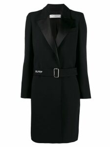 Philosophy Di Lorenzo Serafini belted long coat - Black