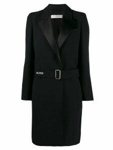Philosophy Di Lorenzo Serafini belted long coat - Black