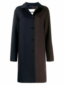 Jil Sander button up coat - Blue