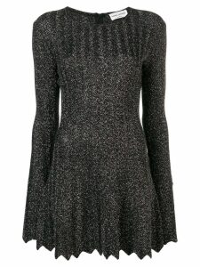 Sonia Rykiel glitter pleated dress - Black