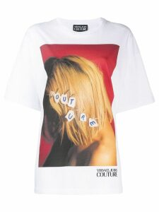Versace Jeans Couture graphic print T-shirt - White