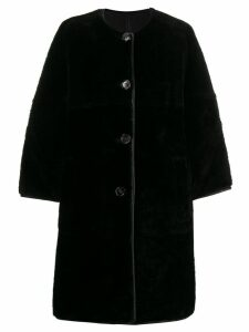 Marni shearling coat - Ron99 Black
