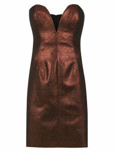 Tufi Duek sleeveless dress - Red