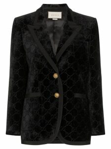 Gucci GG Supreme pattern blazer - Black