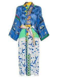 Rianna + Nina mixed print kimono - Multicolour