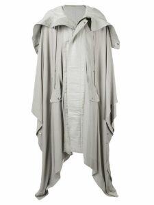Rick Owens oversized draped coat - Grey