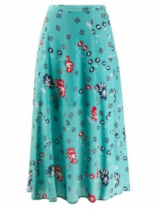 Zadig & Voltaire June Daisy skirt - Blue