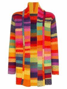The Elder Statesman Tes striped cashmere cardigan - Multicoloured