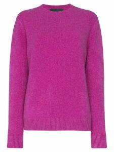The Elder Statesman Simple cashmere sweater - Pink