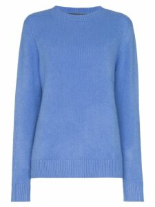 The Elder Statesman Simple cashmere jumper - Blue