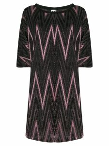 M Missoni knitted day dress - Pink