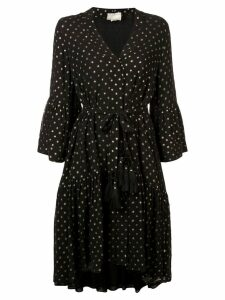 Figue Caroline kimono dress - Black