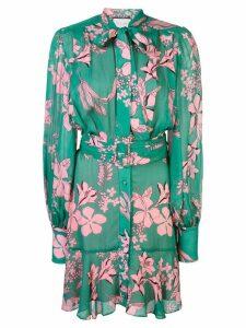 Alexis Tisdale mini dress - Green
