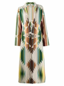 Jessie Western Navajo-style coat - Green