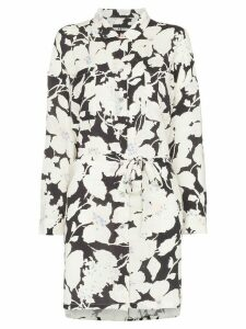 Double Rainbouu Cloud Control floral print shirt dress - Multicolour