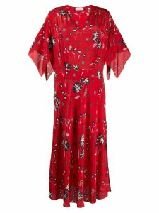 Zadig & Voltaire Rap Daisy print maxi dress - Red