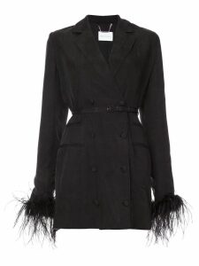 Alice Mccall Favour feather blazer - Black