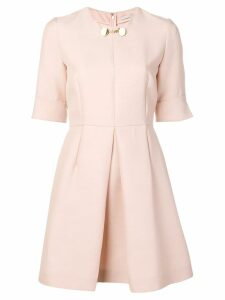Stella McCartney box pleat dress - Pink