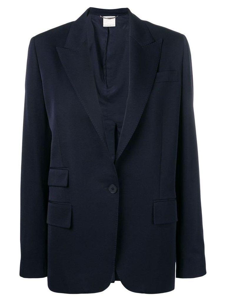 Stella McCartney single breasted blazer - Blue