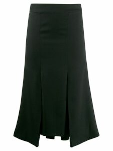 Alexander McQueen flared midi skirt - Black
