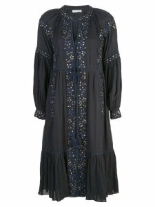 Ulla Johnson embroidered dress - Blue