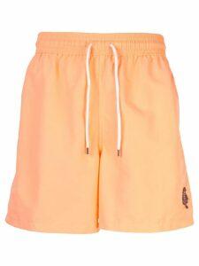 Polo Ralph Lauren english bear swimming trunks - Orange