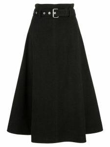 Proenza Schouler Moleskin Skirt - Black